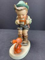 "VTG Goebel Hummel Figurine Sensitive Hunter Bunny 6/2 TMK3 Full Bee 7.25"" Tall"