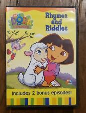 Dora The Explorer Rhymes And Riddles DVD Movie
