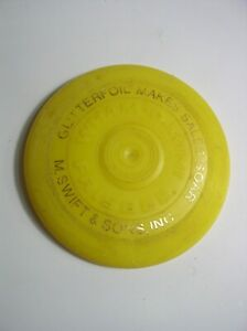 Vintage Miniature Wham-O Frisbee 1967 San Gabriel Calif.