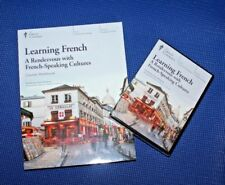 The Great Courses ~ Learning French: Rendezvous w/Cultures~ DVD & Workbook ~NEW!