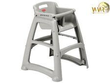 Sturdy Chair Kinderstuhl, Gastronomie, Rubbermaid VB 007814 - Grau