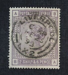 CKStamps: Great Britain Stamps Collection Scott#96 Victoria Used