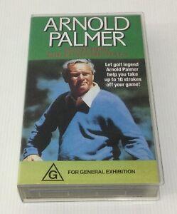 Arnold Palmer Mastering The Fundamentals VHS