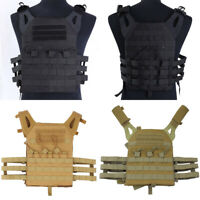 Tactical Molle Plate Carrier Vest Military Army Airsoft Hunting Combat Vest Men