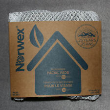 New Norwex Facial Pads Set of 5 with Net Bag