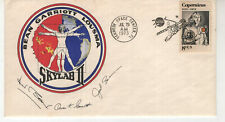 1973 Skylab Ii cover signed by the 3 crew members with trip info