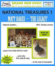 RACING PIGEON DVD National Treasures 1 - Matt Rakes 'The Legacy'