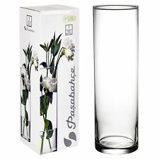 Pasabahce 43896 Flower Vase Glass Clear Table Decoration Deco
