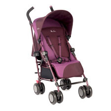stroller suitable from birth Pop Aubergine SX2032.AU Silver Cross