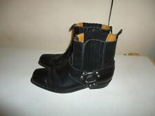 Unbranded Cowboy Boots 100% Leather Upper Shoes for Men