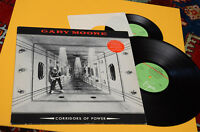 """GARY MOORE LP CORRIDORS OF POWER 1°ST ORIG UK 1982 CON 7"""" LIMITED EDITION EX !!!"""