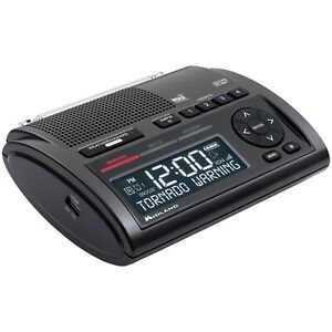 Weather Radio Deluxe Emergency Alerts S.A.M.E. Digital USB Output Programmable