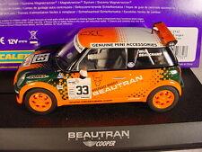 Scalextric BMW Mini Cooper #33 Beautran C2732 MB