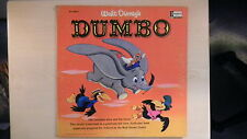 Walt Disney's DUMBO Disneyland Book & Record LP 1965