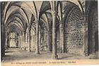 50 - cpa - LE MONT ST MICHEL - L'abbaye - La Salle des Hôtes