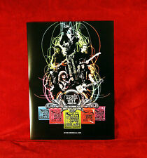 "TWO Ernie Ball & Dean Guitars ""Legends"" Promo Posters"