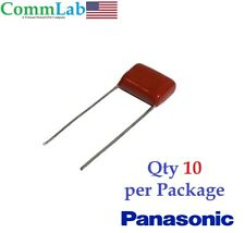 0.01uF 630v 10% PANASONIC Metallized Polyester Film Capacitors (10 Pcs) (.01uf)