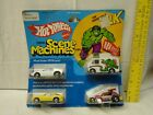 1978 Hot Wheels SCENE MACHINES Gift Pack Hulk +3 in Bubble Pack, Never Removed