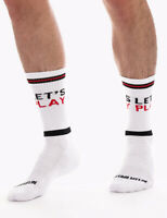 barcode Berlin Gym Socks Lets Play, 91626/225, gay, sexy, SALE