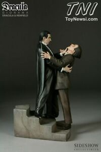 SIDESHOW DRACULA VS. REINFIELD COLOR  DIORAMA 1817UN FACTORY SEALED SHIPPER NEW
