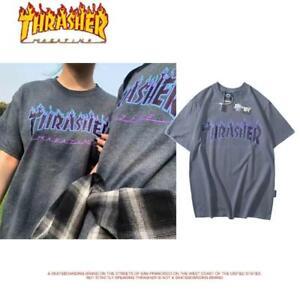 Original Brand T-Shirt Shirts Tops Blouse Mens Casual Pack New THRASHER New*UK