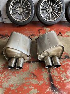 Subaru Impreza Wrx Stock Mufflers / Exhaust 2013 Wrx Wide Body Twin Mufflers