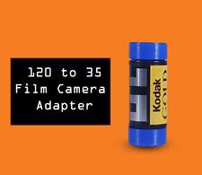 35mm to 120 film camera adapters Kodak Canon Nikon (2pcs)