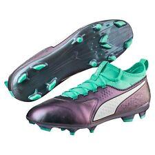 Puma One 3 il LTH FG Scarpe da Calcio Uomo Viola Color Shiftbiscay Green