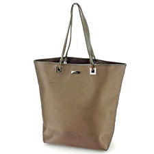 Gucci Tote bag Brown Woman unisex Authentic Used S772
