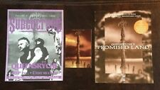 Queensryche Promised Land Post Card & Game Promo Subculture Magazine 1995 w Qr