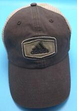 ADIDAS CLIMALITE brown adjustable cap / hat
