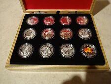 O Canada 12-Coin set, $10 each face value - 1/2 oz Fine Silver Coins