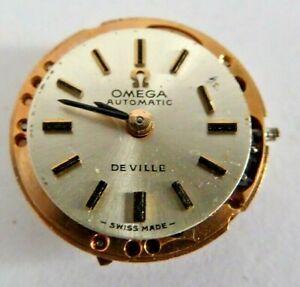 Ladies' Vintage Omega Automatic De Ville Wristwatch Movement Calibre 661