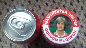 GORDON McQUEEN  MANCHESTER UNITED  MAGNET  55mm IN SIZE