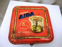 "Vintage Aida Kerosene Stove Tin Advertising Litho Print Made In Germany Rare ""2"