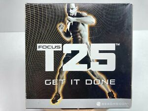 *AWESOME* Beachbody Focus T25 Alpha/Beta 9 Disc DVD Set w/Calendar FREE SHIPPING