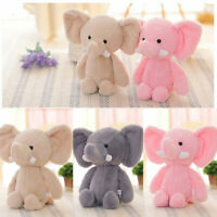 Plush Elephant Baby Kid's Cute Animal Soft Toy Mini Stuffed Animals Doll Gift#OW