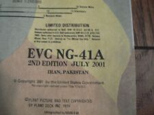 Pilot's Escape Map, Evasion Chart EVC NG-41A Iran, Pakistan 2001