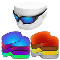 db66a4078b6 OOWLIT Replacement Lenses for-Oakley Scalpel Sunglasses OO9095 Polarized  Etched
