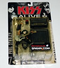 KISS Band PAUL STANLEY Starchild Alive McFarlane Action Figure 2000 Sealed