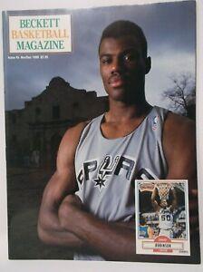 Beckett Basketball Magazine Nov Dec 1991 DAVID ROBINSON Cover