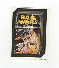 2000 Rare Wacky Package Parodies Star Bar Wars Series 1 Ludlow Sticker Card NM