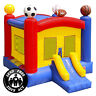 Commercial Grade 17 x 13 Bounce House 100% PVC Sports Jumper Inflatable Only