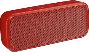Brand NEW In Box Insignia Wireless Bluetooth Stereo Speaker - Red