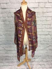 Bohemian Multicolour Wide Cotton scarf