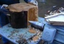Ø80 Holzspalter Drillkegel Kegel für Elektro Kegelspalter mit 28mm Öffnung NEU