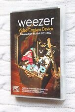 Weezer Video Capture Device: Treasure from Vault 1991-2002 (DVD), Like new