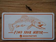 Redington Find Your Water Fly Fishing Sticker
