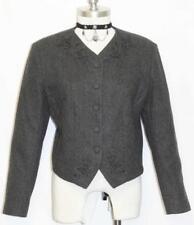 ELEGANT BLACK Evening WOOL German Dress Suit JACKET 10