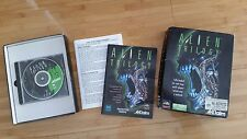 Vintage retro Big Box Dos PC game - Alien Trilogy CD-ROM